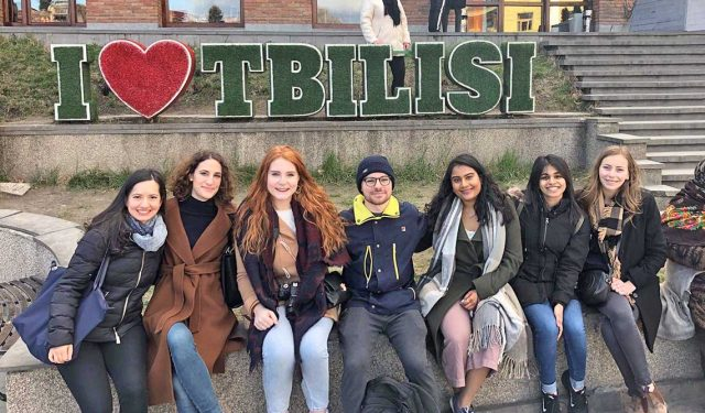U of T undergraduate students travel to Tbilisi to explore Georgia's rich past and promising future – April 15, 2019