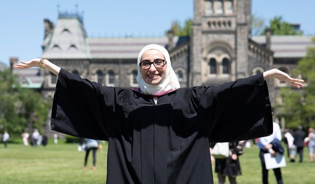 'You cannot defeat me': U of T grad Noura Al-Jizawi, a leader of the Syrian uprising, takes on a new challenge – June 7, 2019