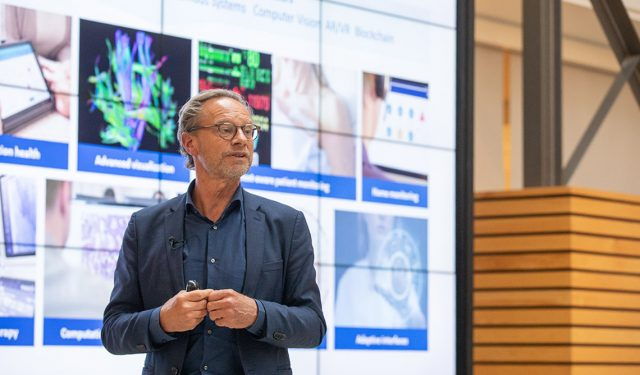 Jeroen Tas, chief innovation and strategy officer at Philips, visits U of T, gives Exponential Impact Lecture – October 28, 2019