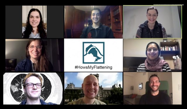 #HowsMyFlattening? Group led by U of T community members creates one-stop shop for COVID-19 data – April 14, 2020