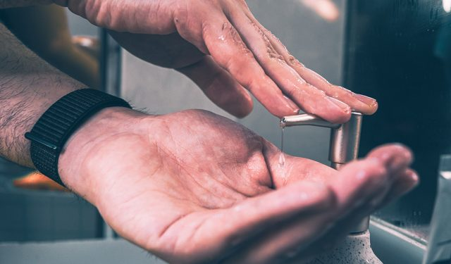 "U of T startup's ""buddy badge"" encourages handwashing in hospitals, could help stem COVID-19 spread – April 13, 2020"