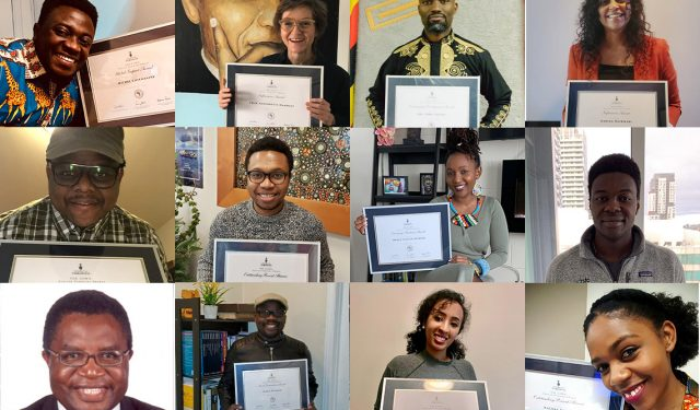 'Exceptional role models': African Scholars Awards recognize contributions to university and society – February 3, 2021