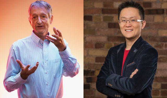 U of T's Geoffrey Hinton and Allen Lau help kick off 2021 Collision conference