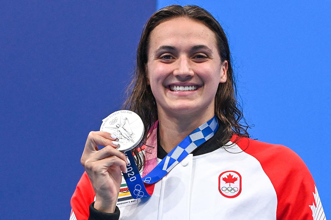 In nail-biting final, Kylie Masse takes silver in 100-metre backstroke at Tokyo Games – July 27, 2021
